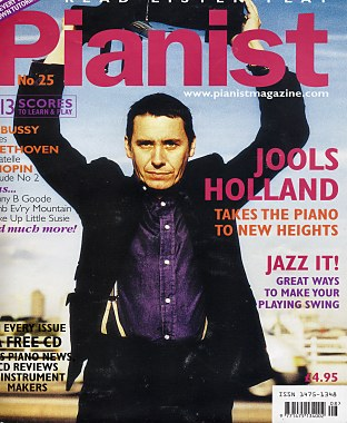 Pianist Magazine Cover - August 2005