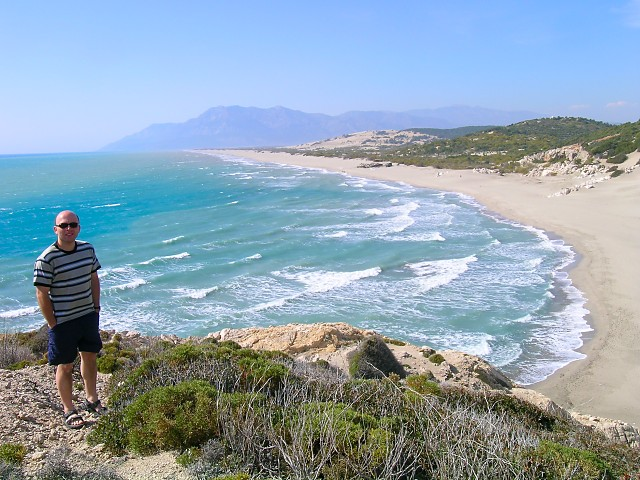 Patara Beach, Turkey - {Click on photo to return to Home Page}
