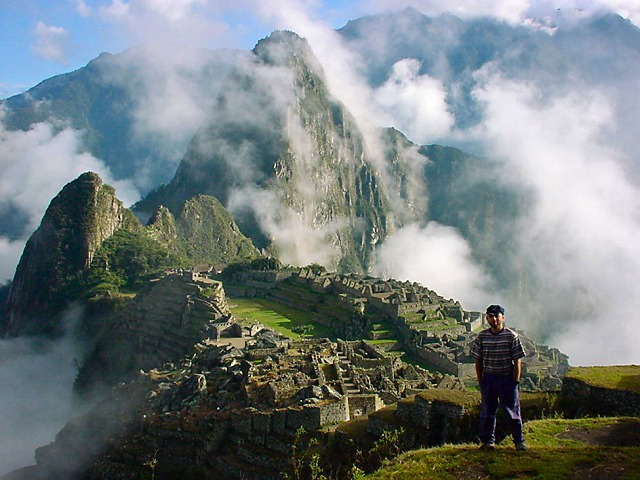 Machu Picchu, Peru - {Click on photo to return to Home Page}