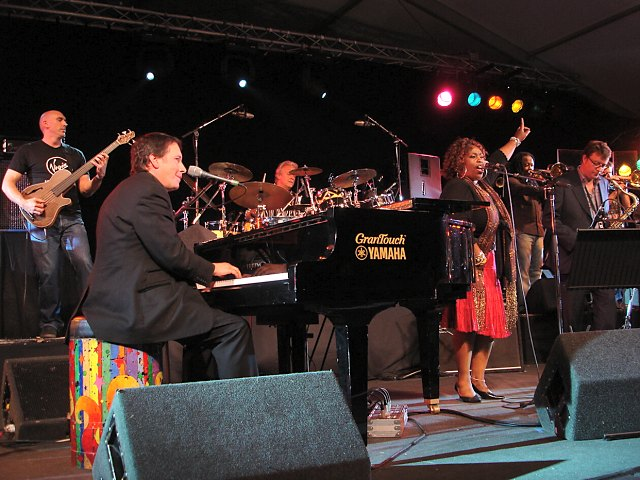 Ruby Turner : With Jools Holland and his Rhythm & Blues Orchestra - Brecon Jazz Festival, August 2005